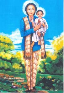 Bunda Hati Kudus versi wanita Jawa
